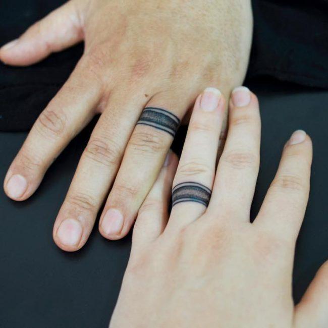 шпиц фото тату в виде кольца думаю