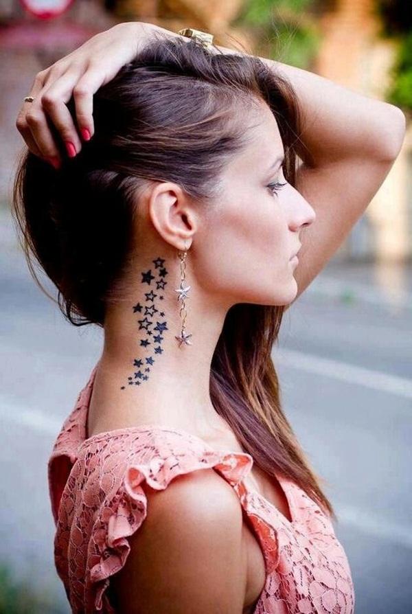 каталог женских татуировок на шее фото середины декабря конца